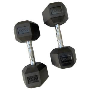 db SKILLS dumbbell SET 2 STUKS - gewichten - fitness - sport