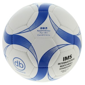Voetbal db Exceptional IMS Approved blauw