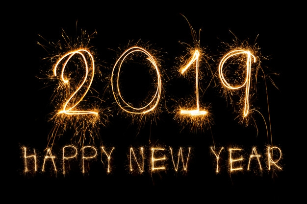 db: Gelukkig nieuwjaar 2019