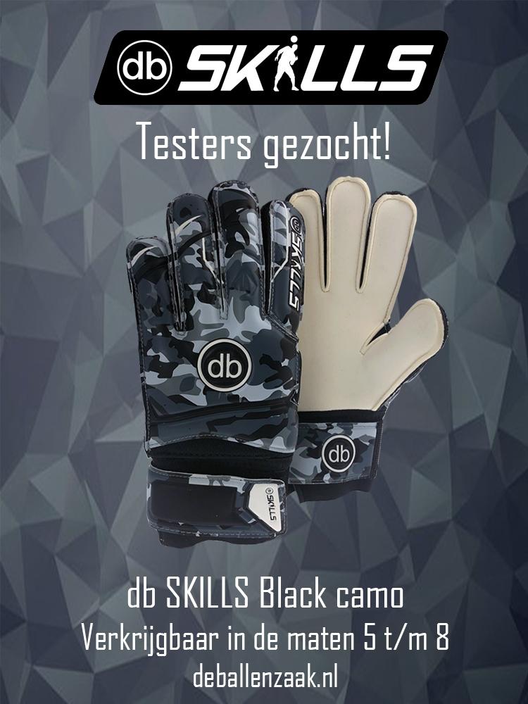 db: db SKILLS Black camo